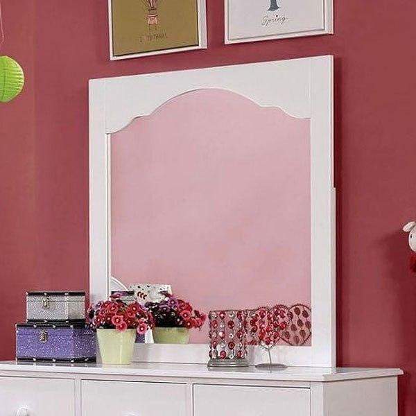 Dani Youth Panel Bedroom Set (White) Furniture Of America ...
