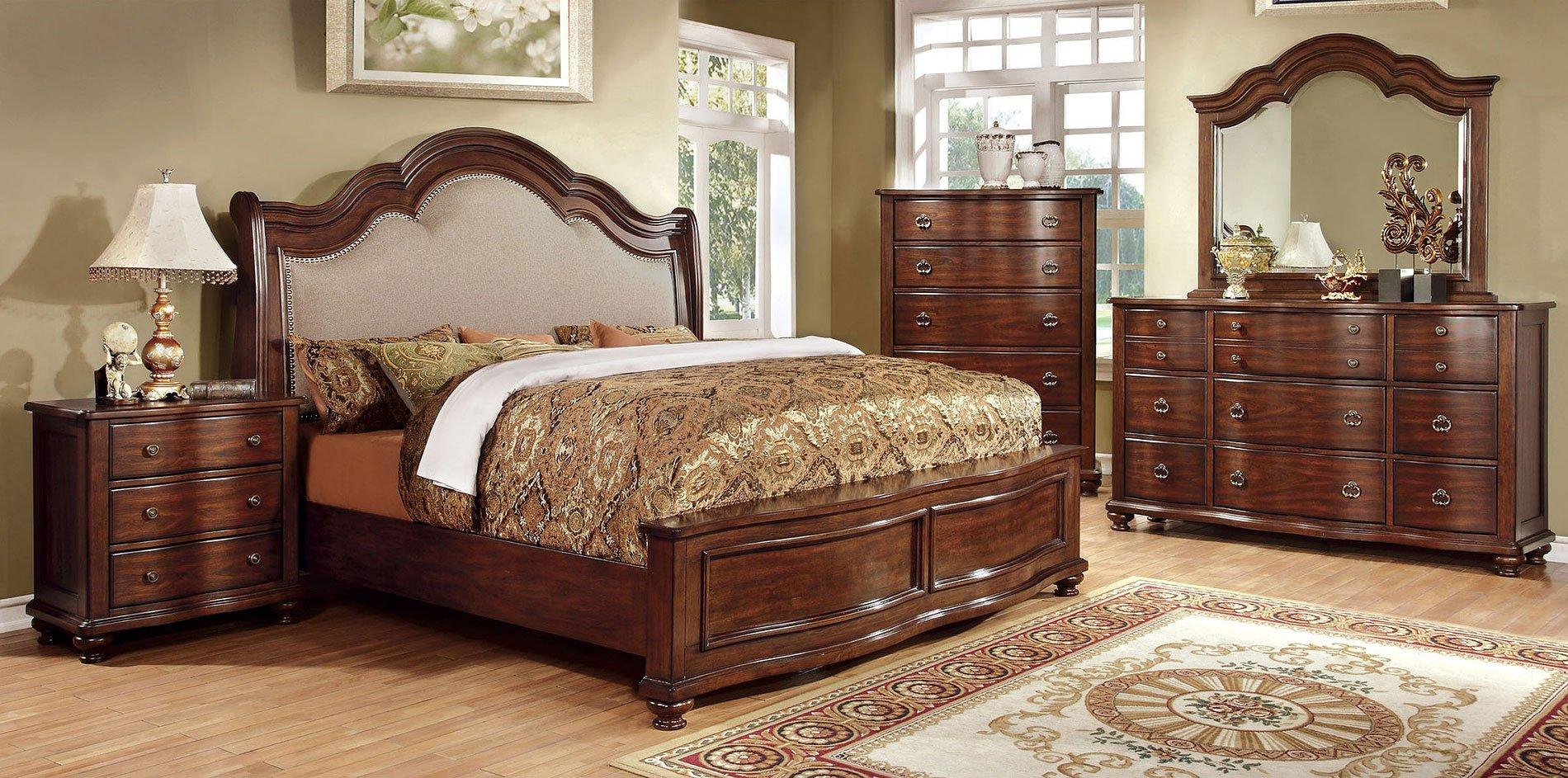Bellavista Low Footboard Bedroom Set Furniture Of America