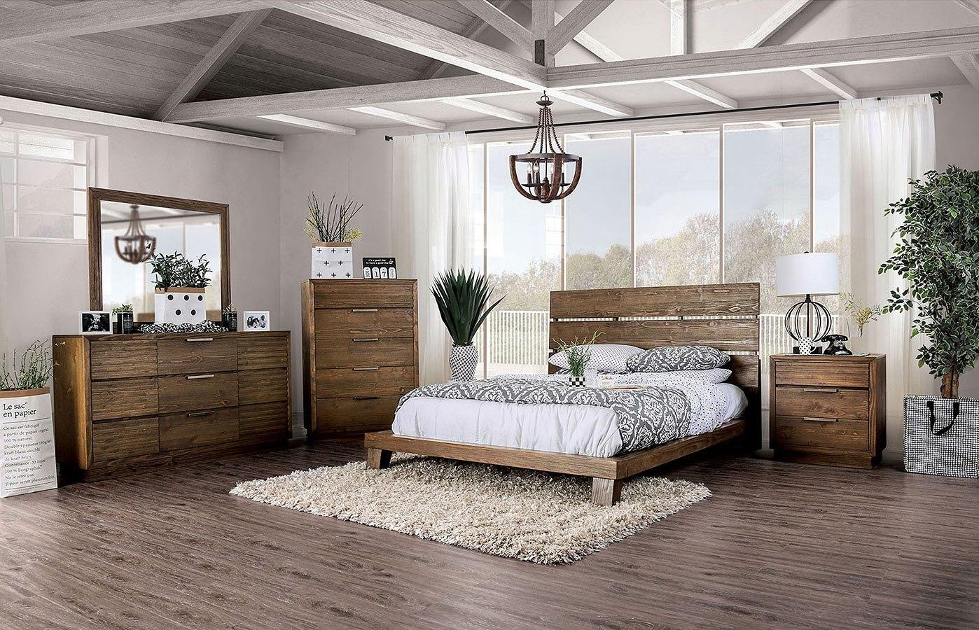 Tolna Low Profile Bedroom Set Furniture Of America ...