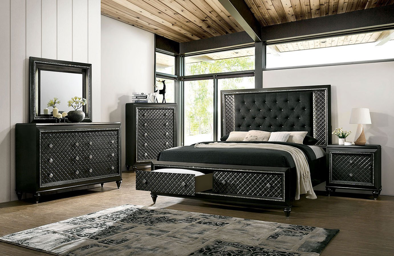 Demetria Storage Bedroom Set