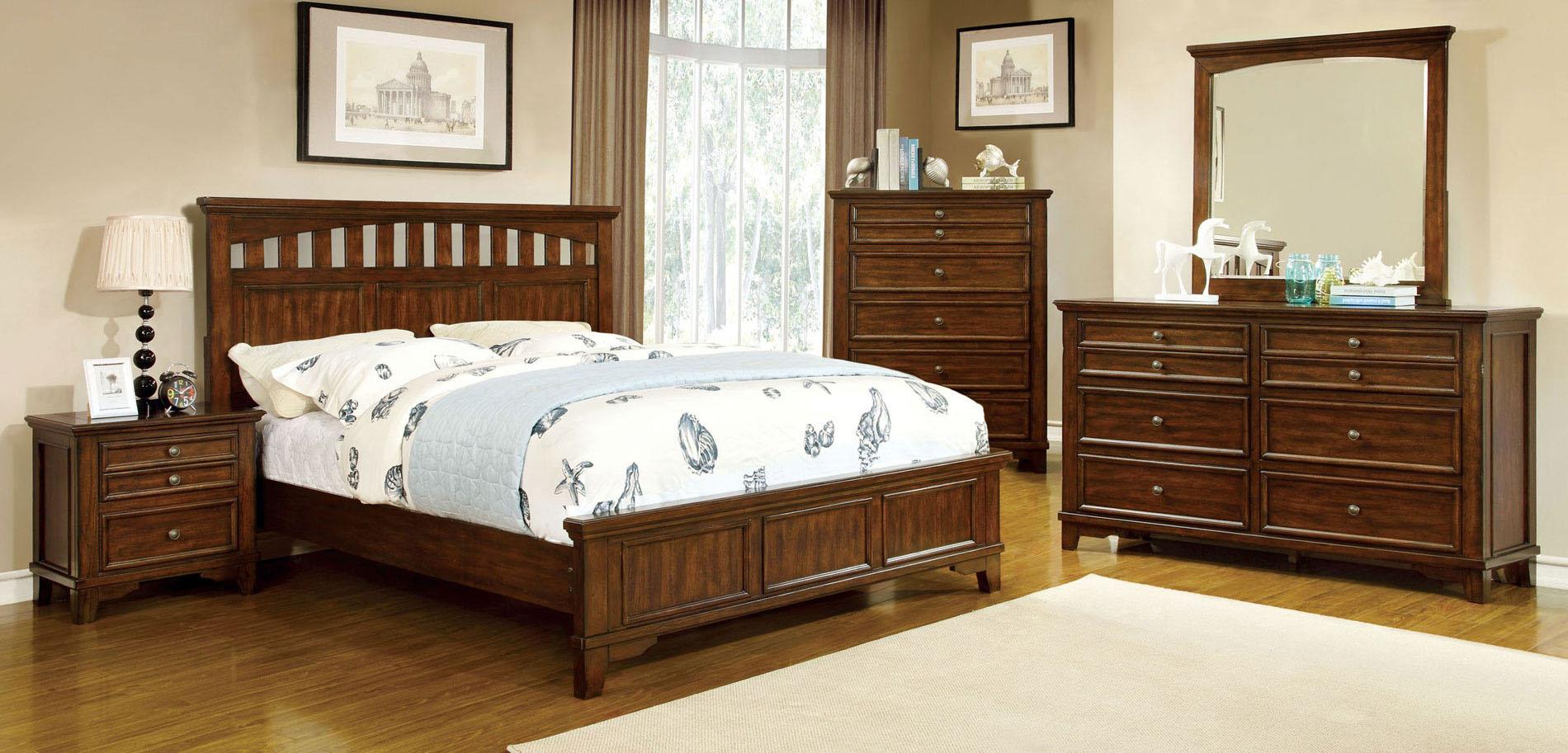 Chelsea Panel Bedroom Set Furniture Of America Furniture