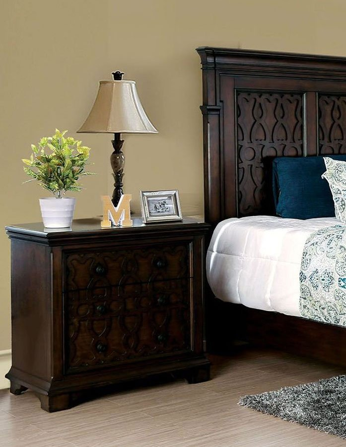 Bon Minerva Night Stand By Furniture Of America
