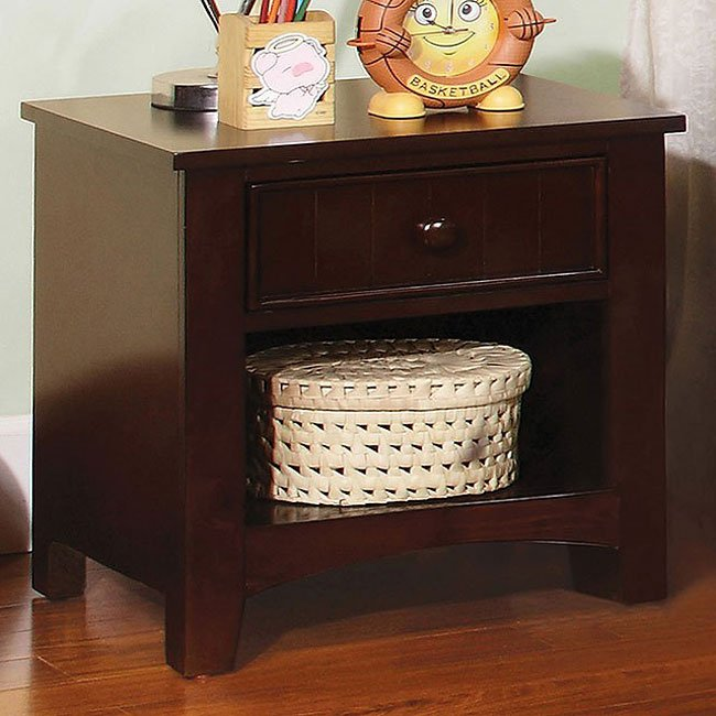 Omnus Youth Nightstand (Dark Walnut)