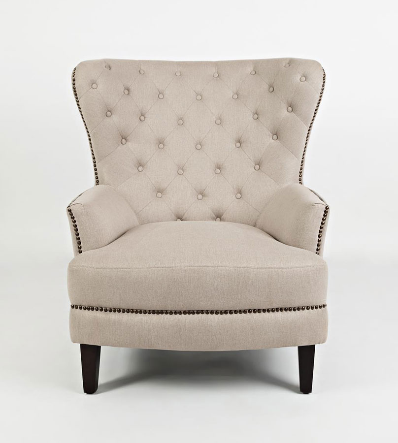 Accent Chair For Taupe Couch: Conner Accent Chair (Taupe) Jofran Furniture