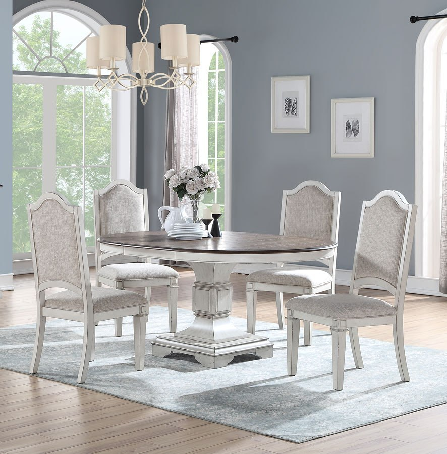 Anastasia Round Dining Room Set New Classic Furniture Furniture Cart