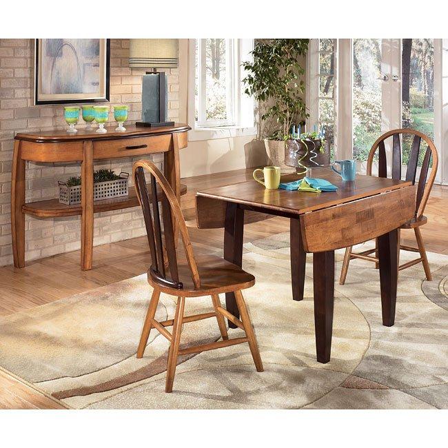 Urbandale Drop Leaf Dining Room Set Signature Design By