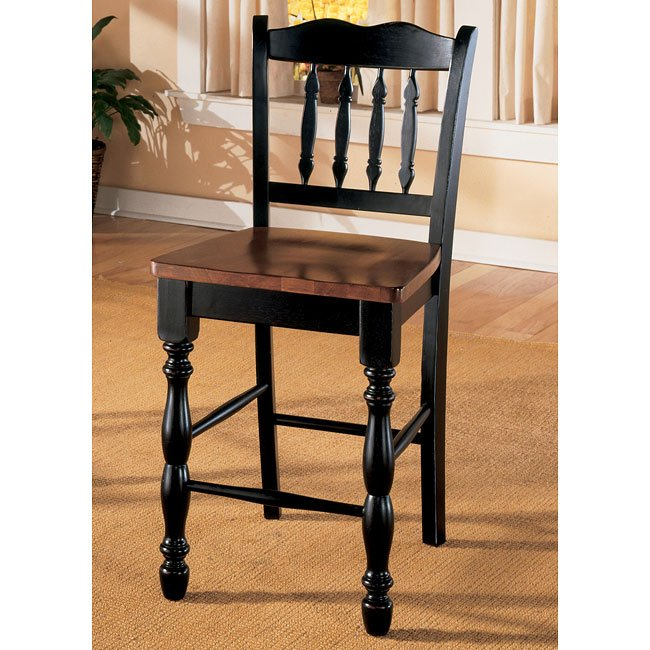 Cedar Heights 24 Inch Bar Stool Set Of 2 Signature Design By