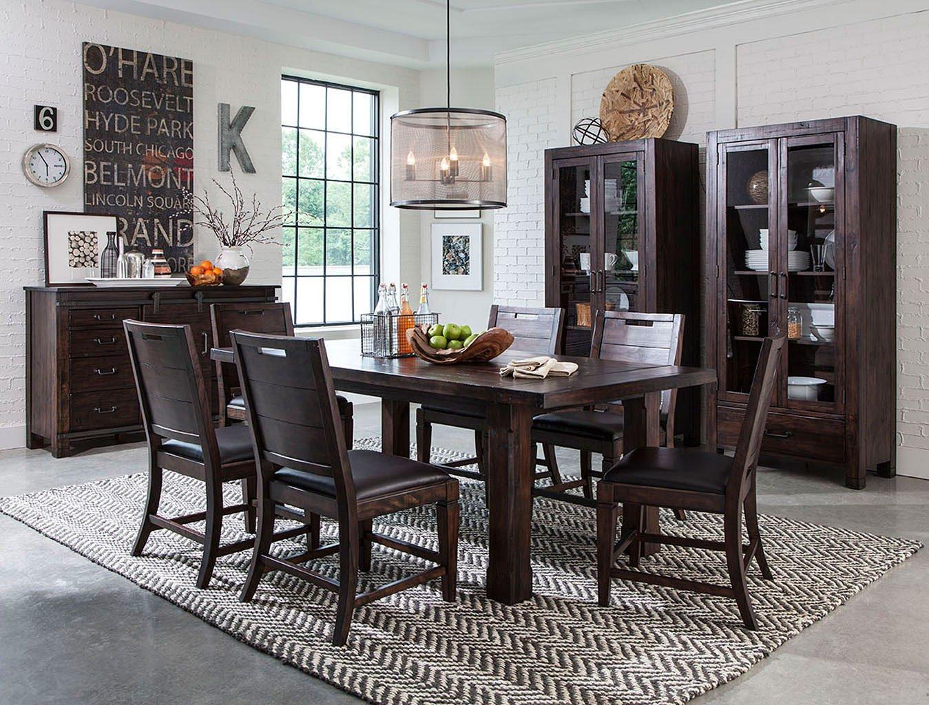 Pine Living Room Furniture Sets: Pine Hill Dining Room Set Magnussen, 1 Reviews