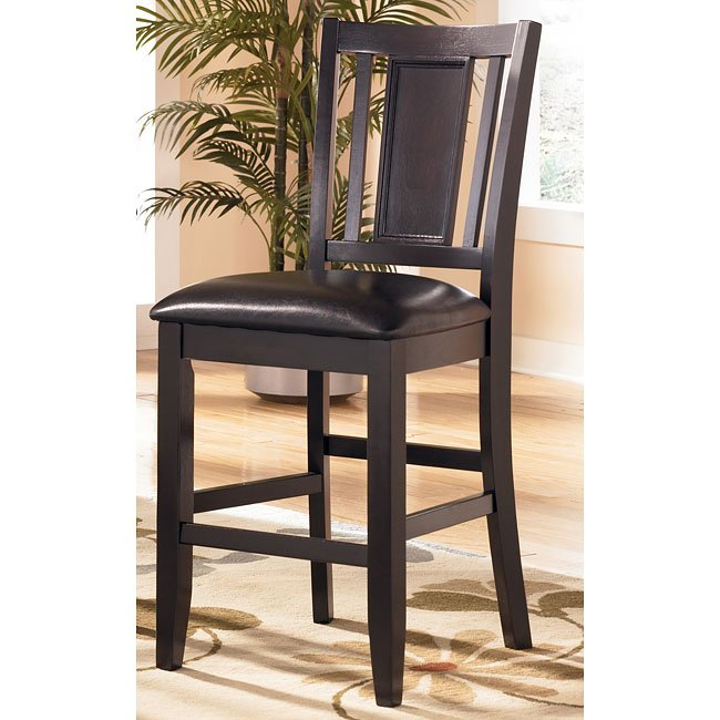 Carlyle 24 Inch Wood Bar Stool Set Of 2 Signature Design By Ashley