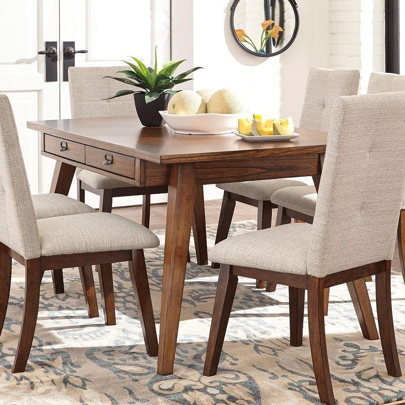 Centiar Rectangular Dining Table Signature Design ...