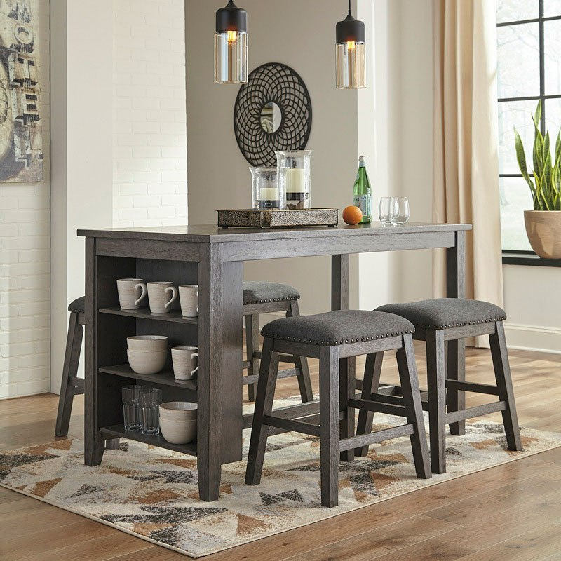 Caitbrook Counter Height Dining Room Set W/ Stools