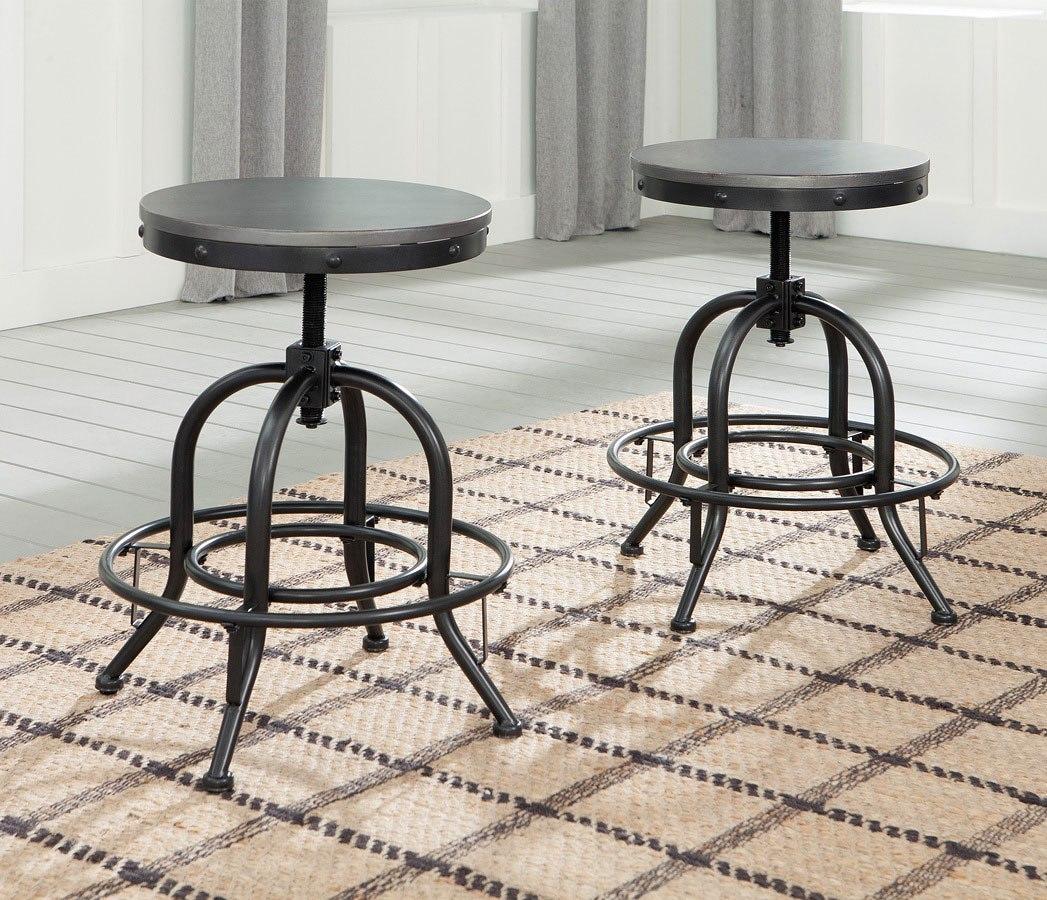 Excellent Minnona Adjustable Swivel Stool Set Of 2 Uwap Interior Chair Design Uwaporg