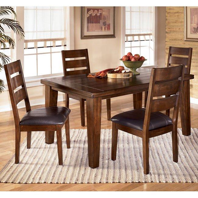 Larchmont Rectangular Dining Room Set Signature Design, 2