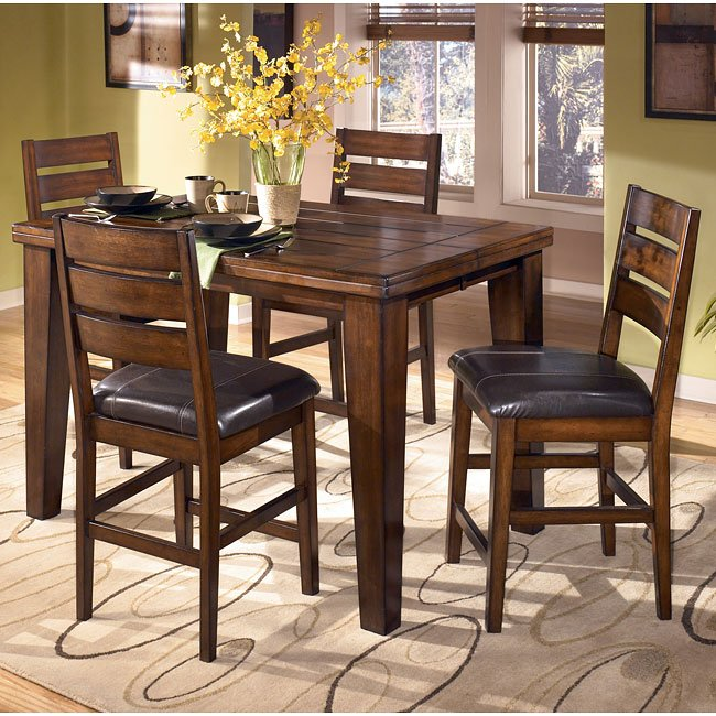 Larchmont Counter Height Dining Room Set Signature Design