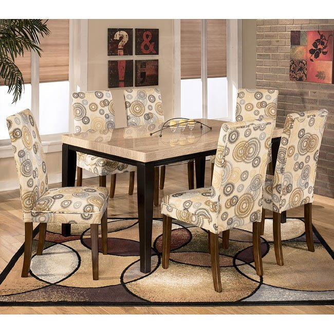 Naomi Dining Room Set With Twinkle Chairs Signature Design