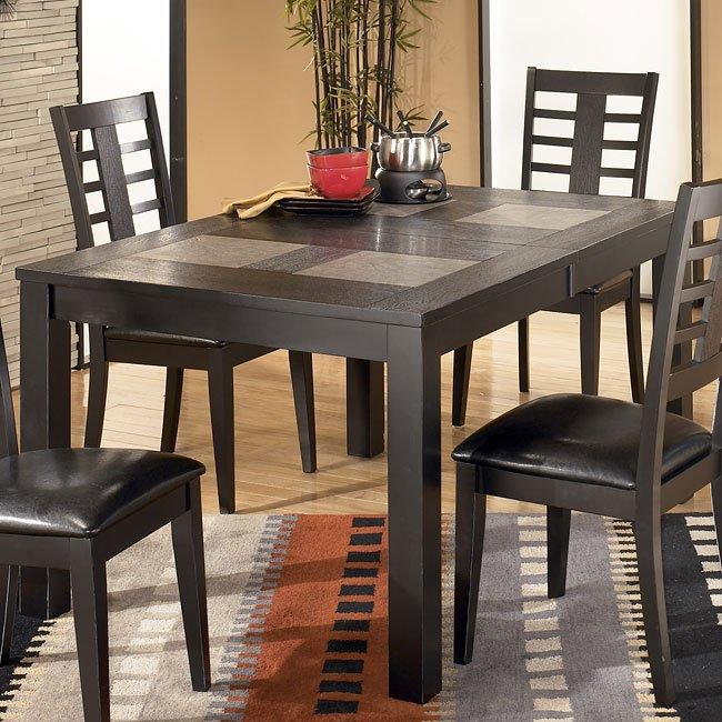 Brockway Rectangular Extension Dining Table Signature Design