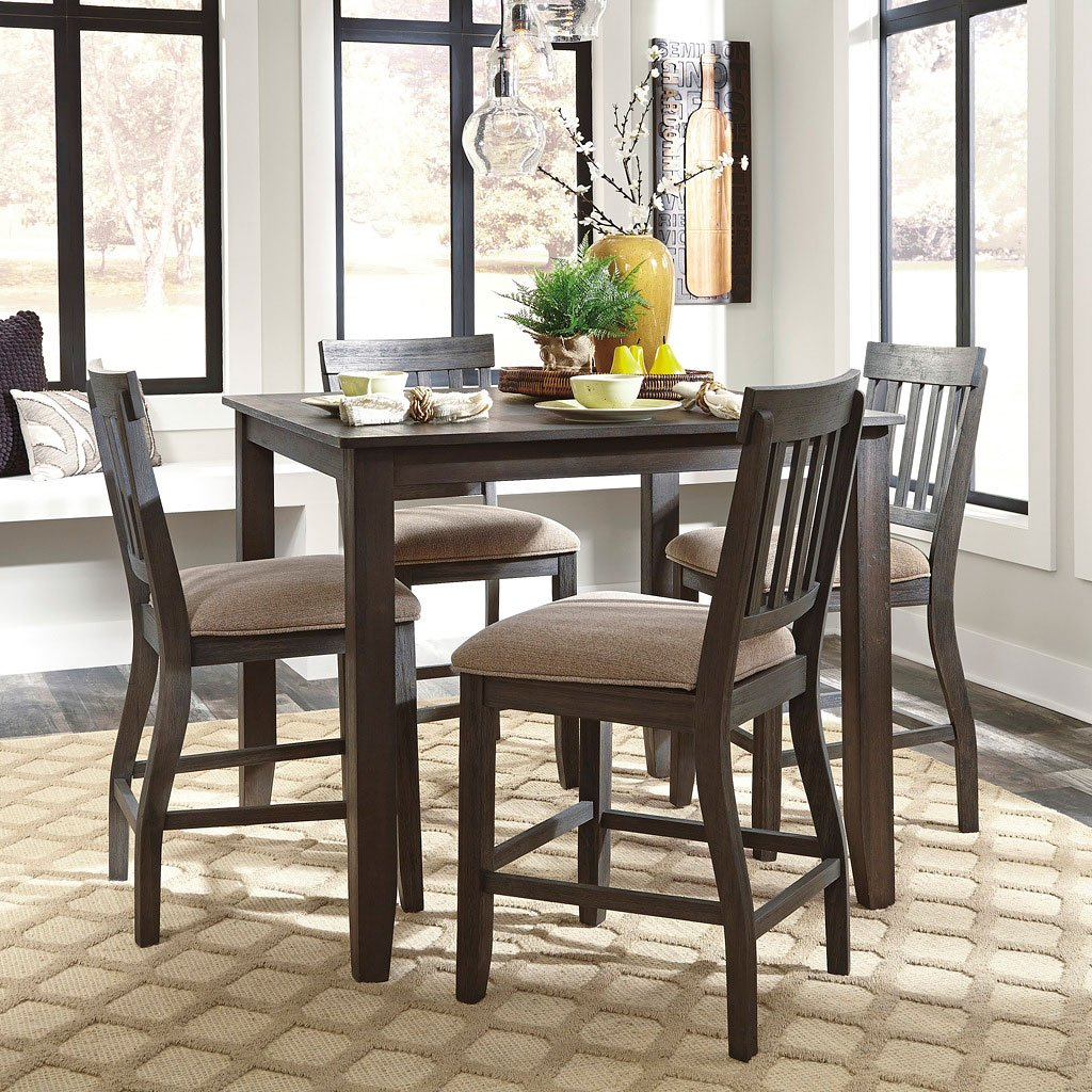 Dining Room Sets Bar Height: Dresbar Counter Height Dining Room Set Signature Design