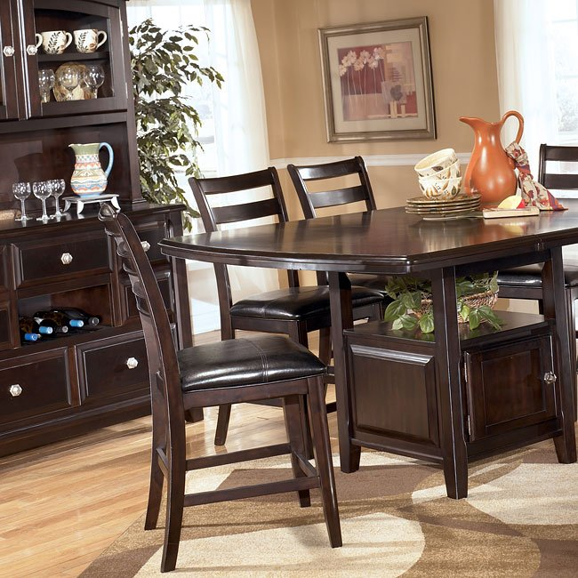 Ridgley Counter Height Dining Room Set