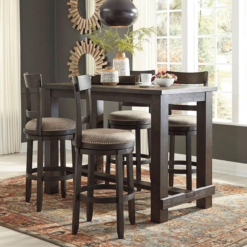 Drewing Bar Table Set Signature Design Furniture Cart
