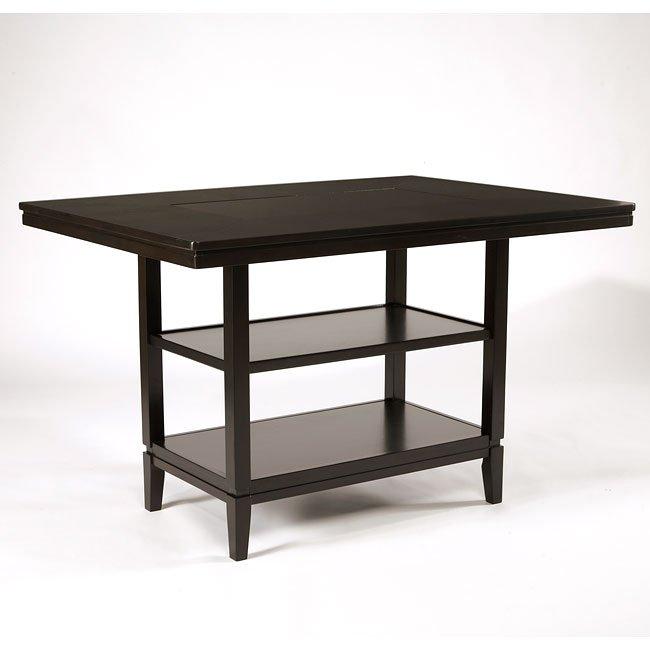 Trishelle Rectangular Counter Height Table