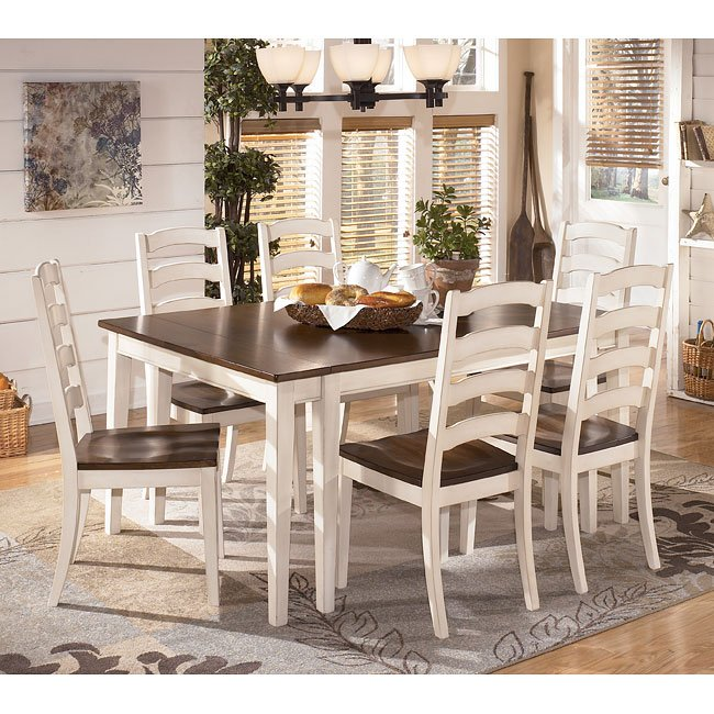 Outstanding Whitesburg Dining Room Set W 2 Chair Choices Interior Design Ideas Apansoteloinfo