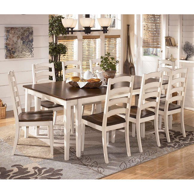 Whitesburg Dining Room Set W/ 2 Chair Choices Signature
