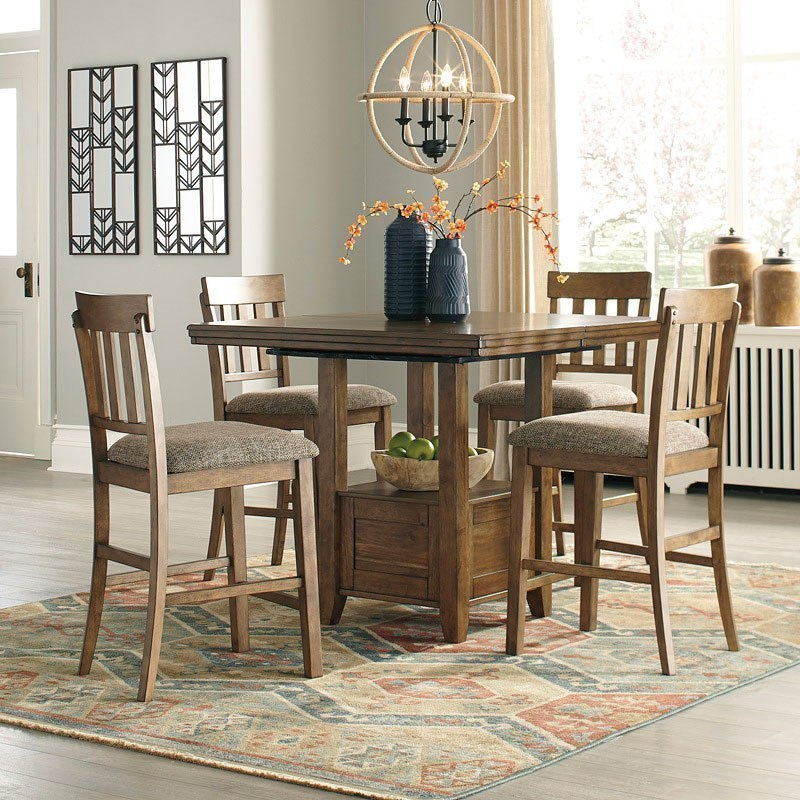 Flaybern Counter Height Dining Room Set