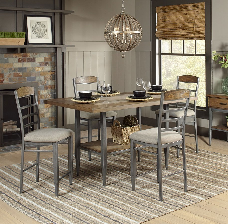 Counter Height Dining Room: Rockport Counter Height Dining Room Set Largo Furniture