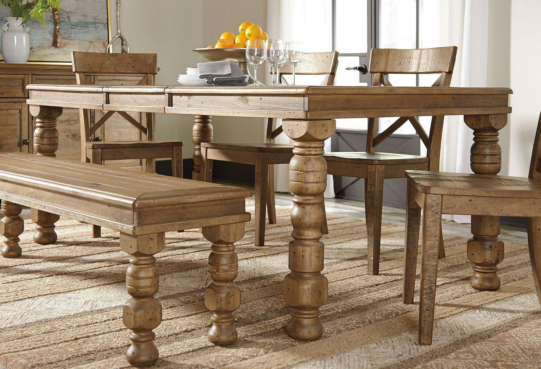 Trishley Dining Room Set Signature Design Furniture Cart