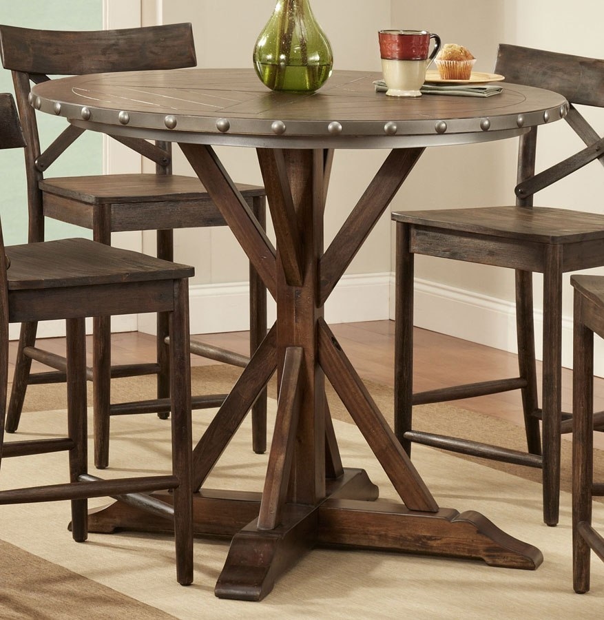 lance round counter height table largo furniture furniture cart. Black Bedroom Furniture Sets. Home Design Ideas