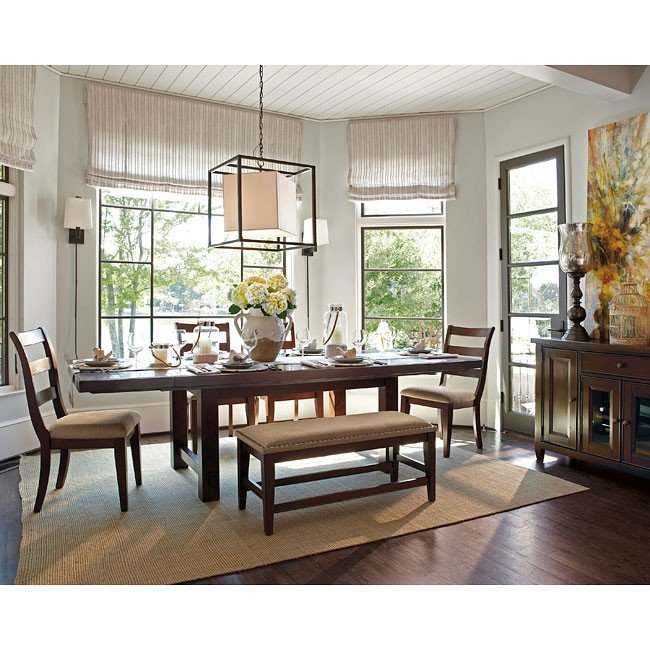 Hindell Park Coffee Table.Hindell Park Dining Room Set Millennium Furniture Cart