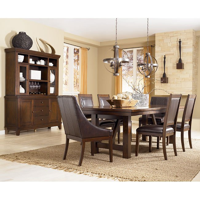 Formal Dining Room Set: Holloway Formal Dining Room Set W/ Arm Chairs Millennium