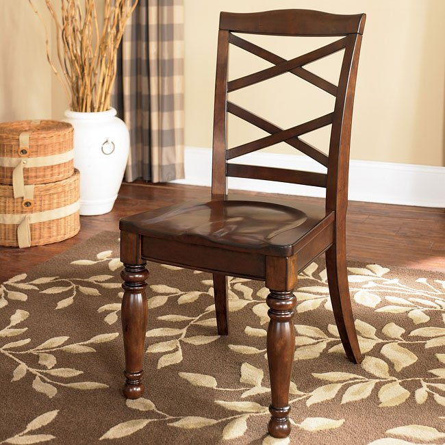 Porter Leather Chair Set Of 2: Porter Dining Room Set W/ Oval Table Millennium