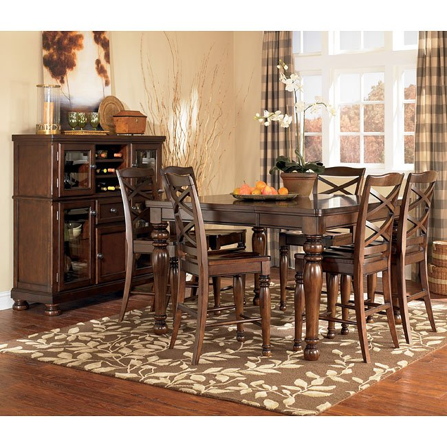 Porter Counter Height Dining Room Set Millennium