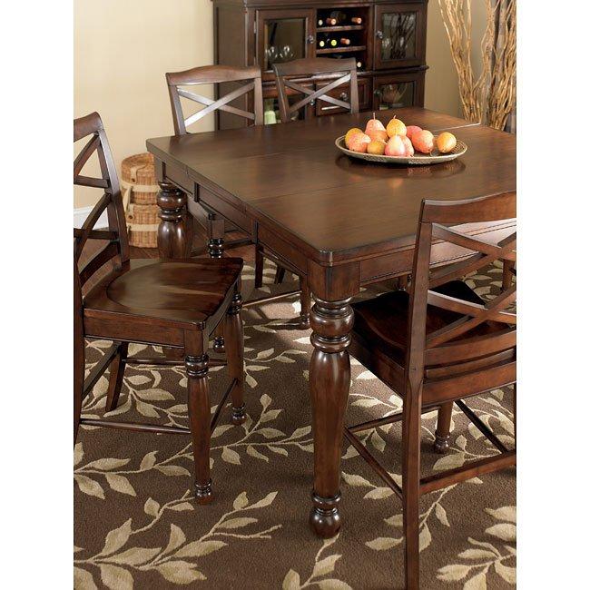 Ashley Furniture Porter D697 35 Rectangular Extension: Porter Counter Height Extension Table Millennium