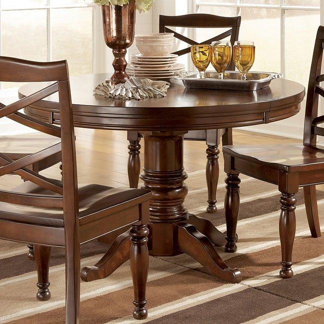 Porter Dining Room Set W Burkesville Chairs Millennium