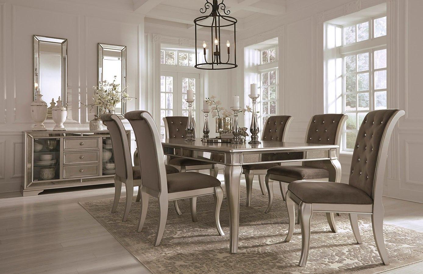 Birlanny Extension Dining Room Set Signature Design | Furniture Cart