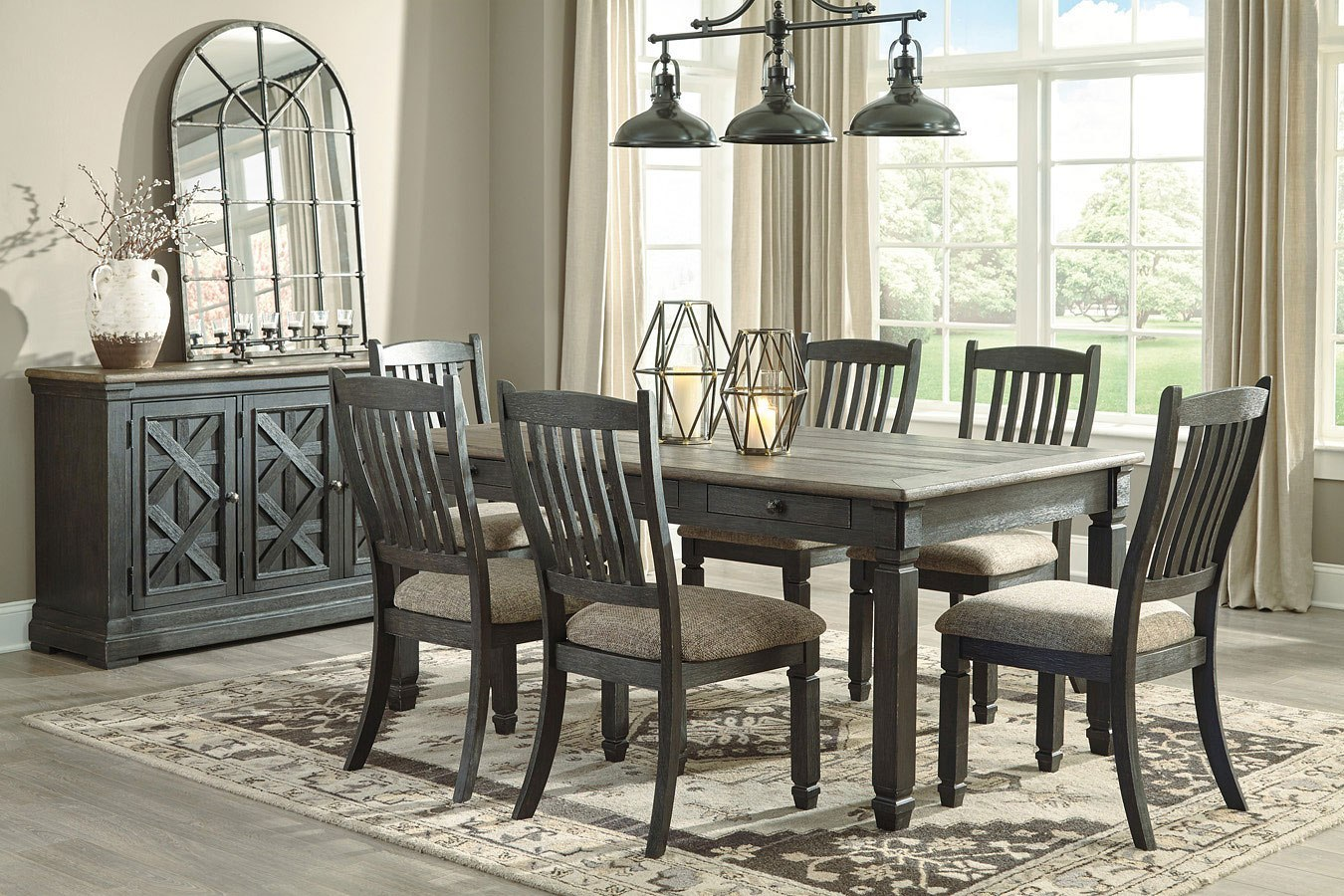 Tyler Creek Rectangular Dining Set Signature Design ...
