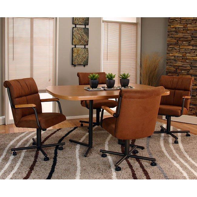 Landon Bow-End Dining Room Set