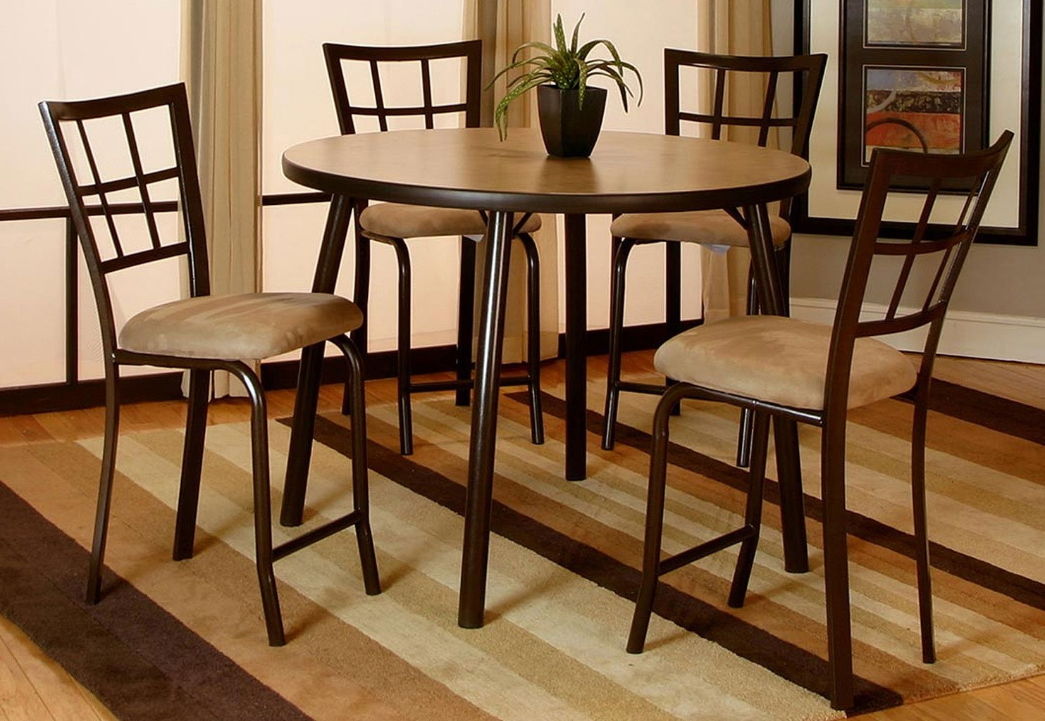 Vision Counter Height Dining Room Set Java Cramco