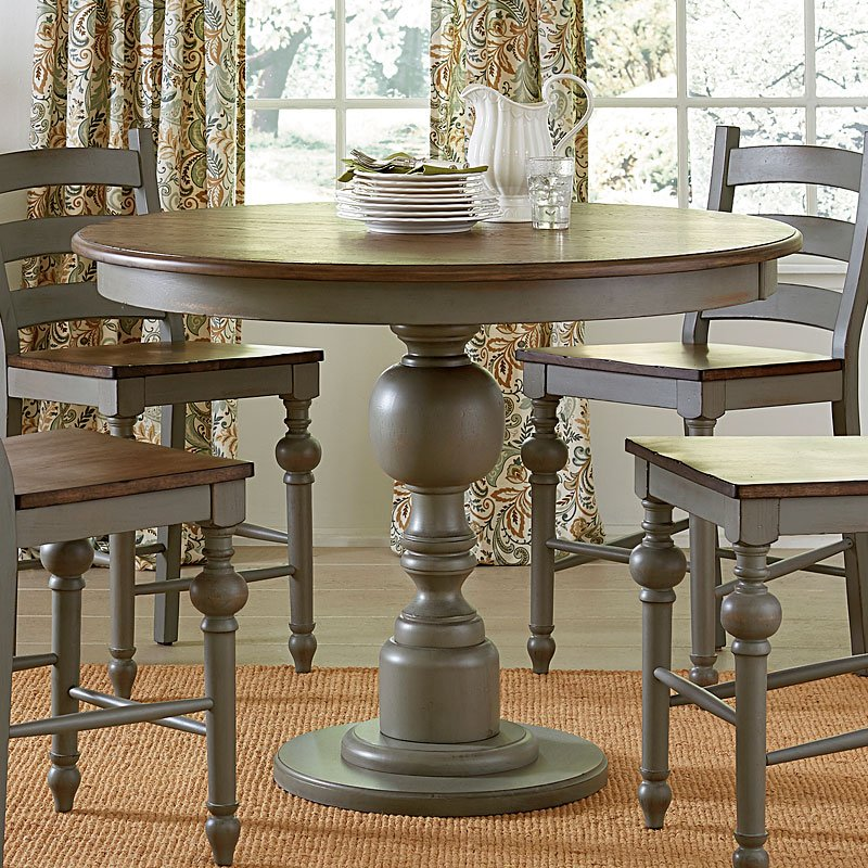 Colonnades Round Counter Height Table Progressive