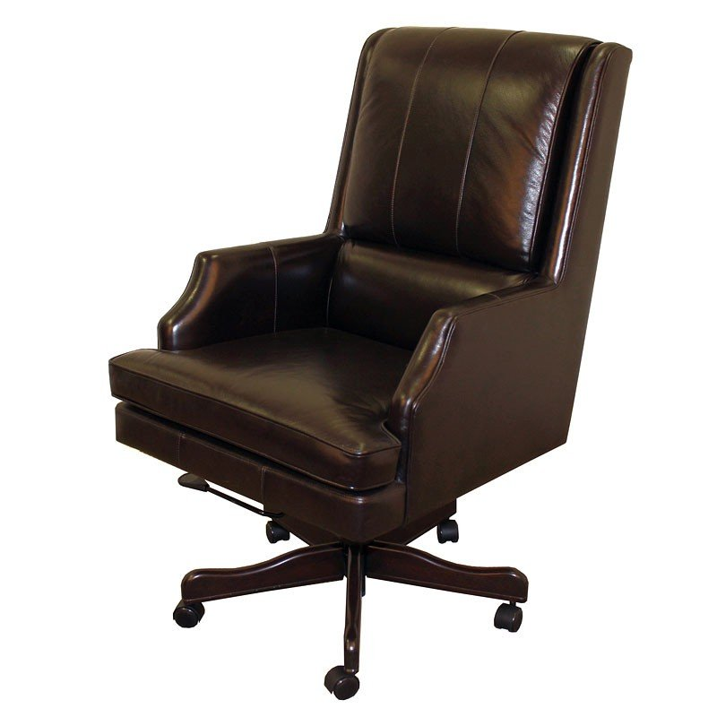 Prestige Executive Sable Leather Desk Chair