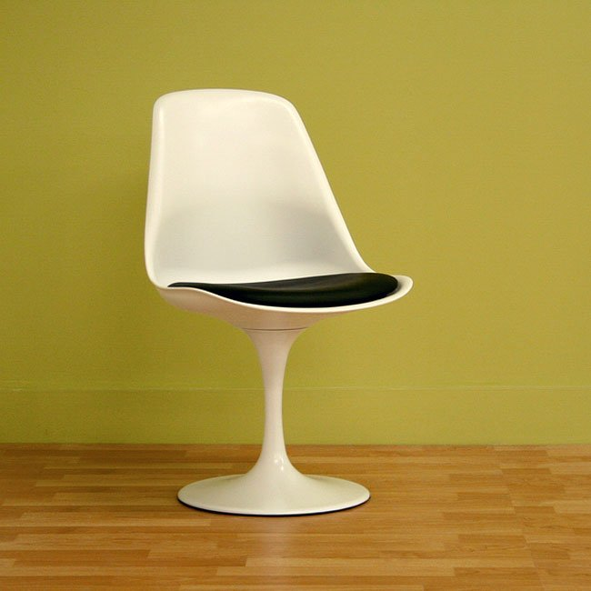 Plastic Accent Chair (White)