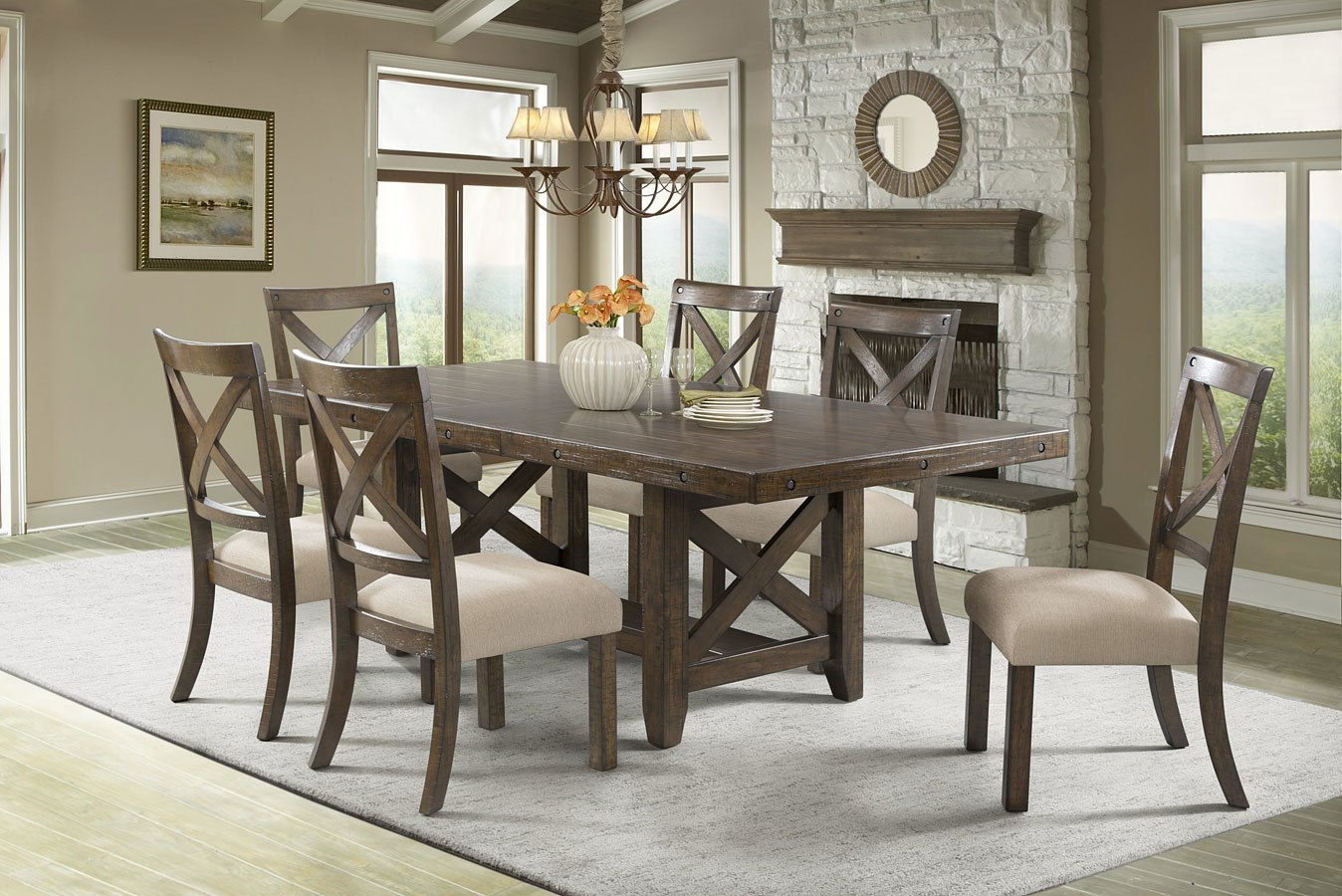 franklin dining room set elements furniture furniture cart. Black Bedroom Furniture Sets. Home Design Ideas