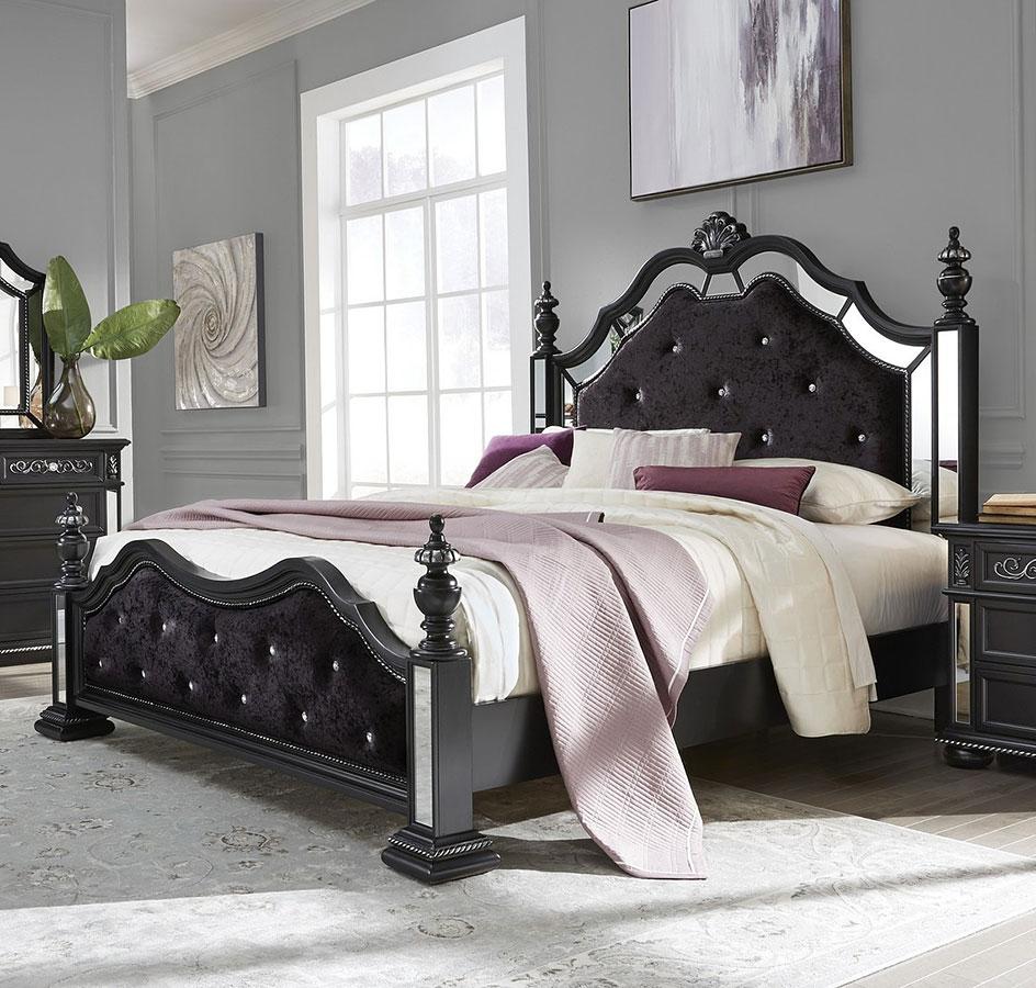 Diana Poster Bedroom Set (Black)