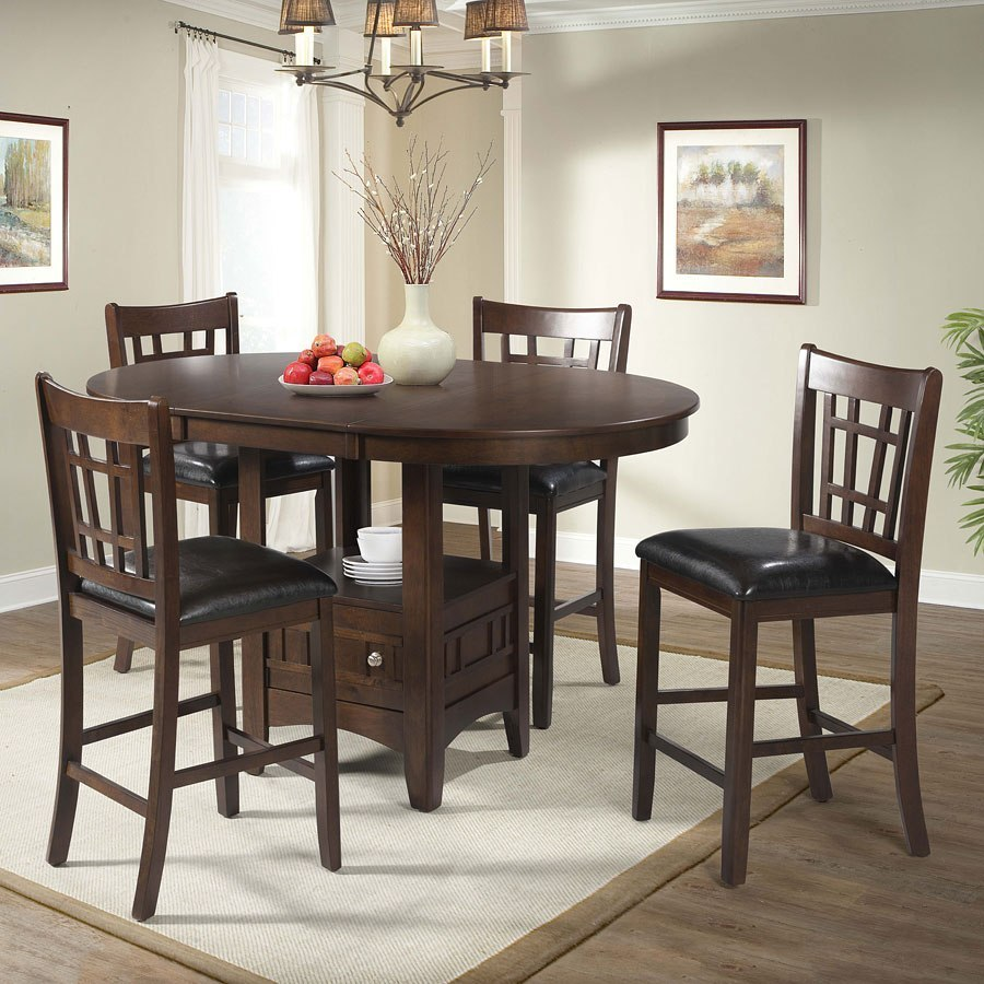 max counter height dining room set cherry elements furniture furniture cart. Black Bedroom Furniture Sets. Home Design Ideas