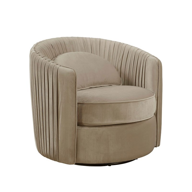 Taupe Accent Chairs.Small Space Neutral Taupe Accent Chair