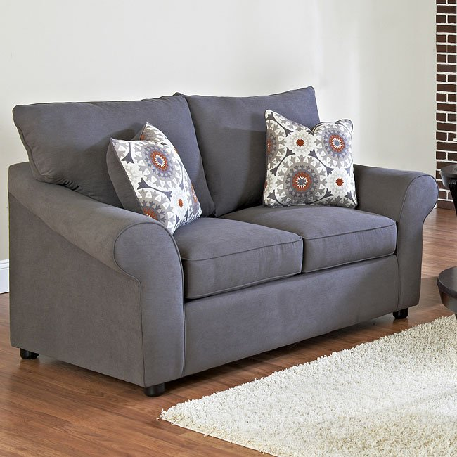 Folio Loveseat (Halo Gunmetal)