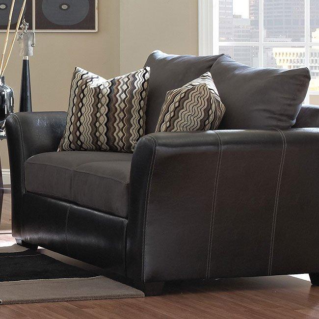 Cordova Living Room Set (Charcoal) Klaussner