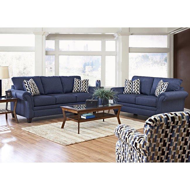 Hubbard Living Room Set Incline Naval Klaussner